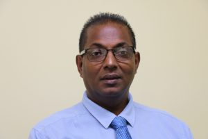 Mr. Gilroy Pultie, General Manager of the Nevis Electricity Company Limited