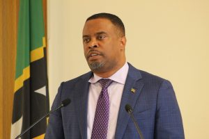 Hon. Mark Brantley, Premier and Minister Finance in the Nevis Island Administration (file photo)