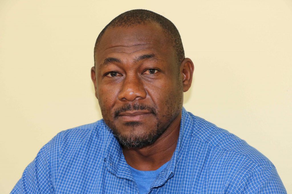 Mr. Brian Dore, Director of the Nevis Disaster Management Department in the Nevis Island Administration