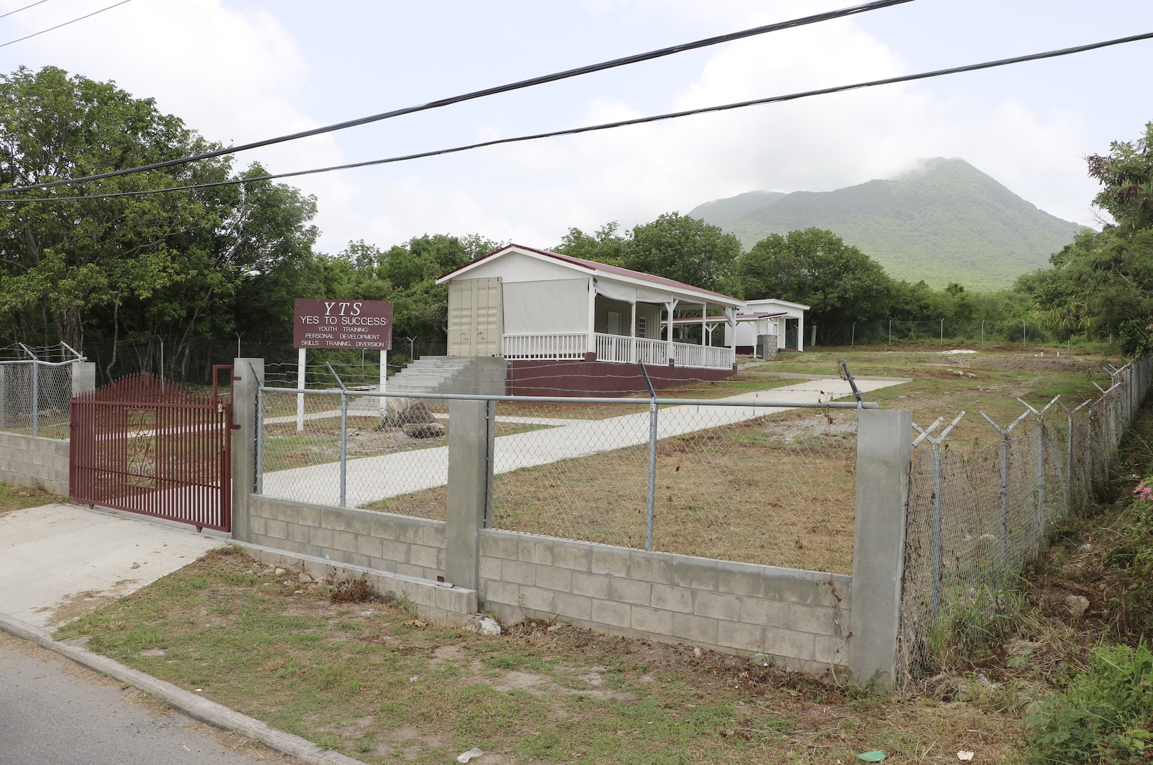 The Yes To Success compound at Pinney's Estate on August 28, 2020, which will be officially opened by the Ministry of Social Development in September
