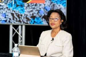 Dr. Hazel Laws, Chief Medical Officer in St. Kitts and Nevis (file photo)