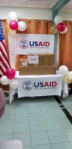 Donation of medical equipment to the people of St. Kitts and Nevis from the United States Agency for International Development