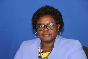 Hon. Hazel Brandy, Junior Minister of Health in the Nevis Island Administration