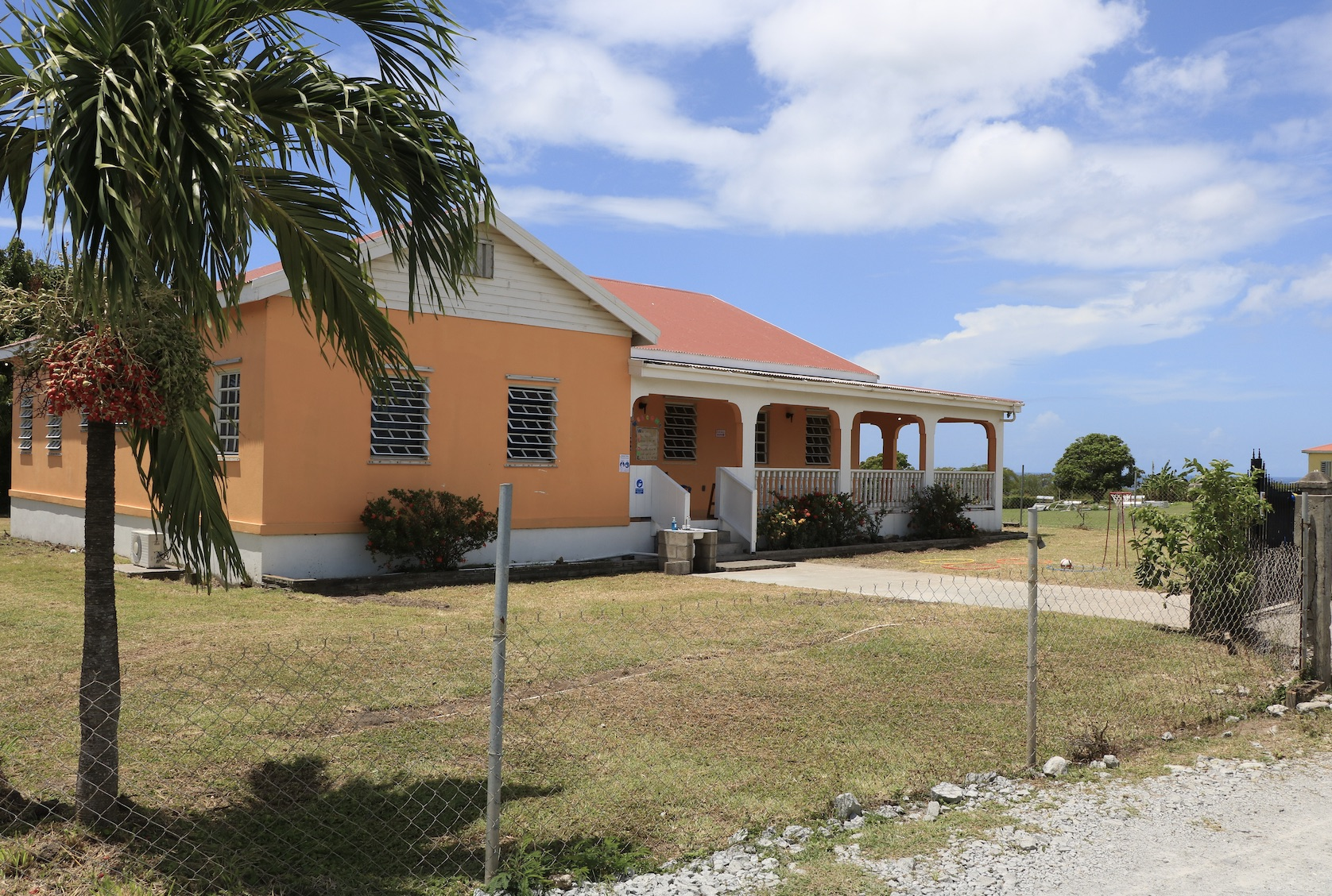 Second site for the Charlestown Preschool located in Farms Estate, Nevis