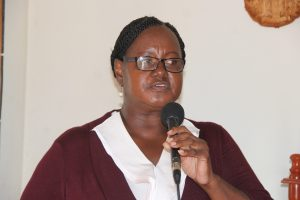 Mrs. Sandra Morton, Director of the Department of Social Services in the Ministry of Social Development on Nevis (file photo)