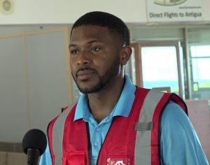 Mr. Micahail Manners, Operations Manager at the Vance W. Amory International Airport in Nevis
