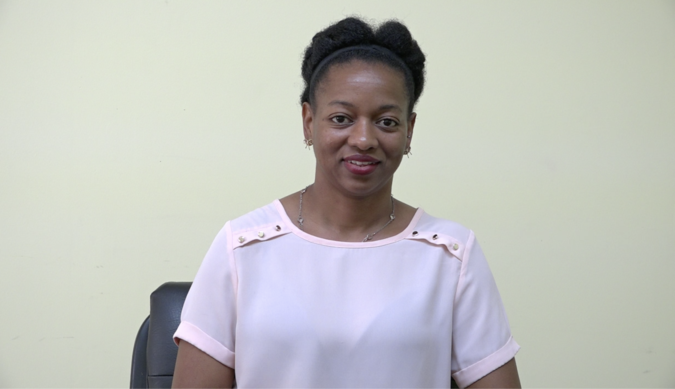 Ms. Shevanée Nisbett, Senior Health Educator at the Health Promotion Unit in the Ministry of Health on Nevis, at the Department of Information on October 20, 2020
