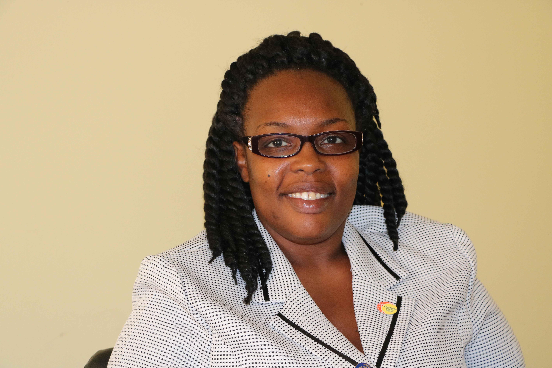 Mrs. Rhonda Forbes-Williams, Deputy Postmaster General on Nevis