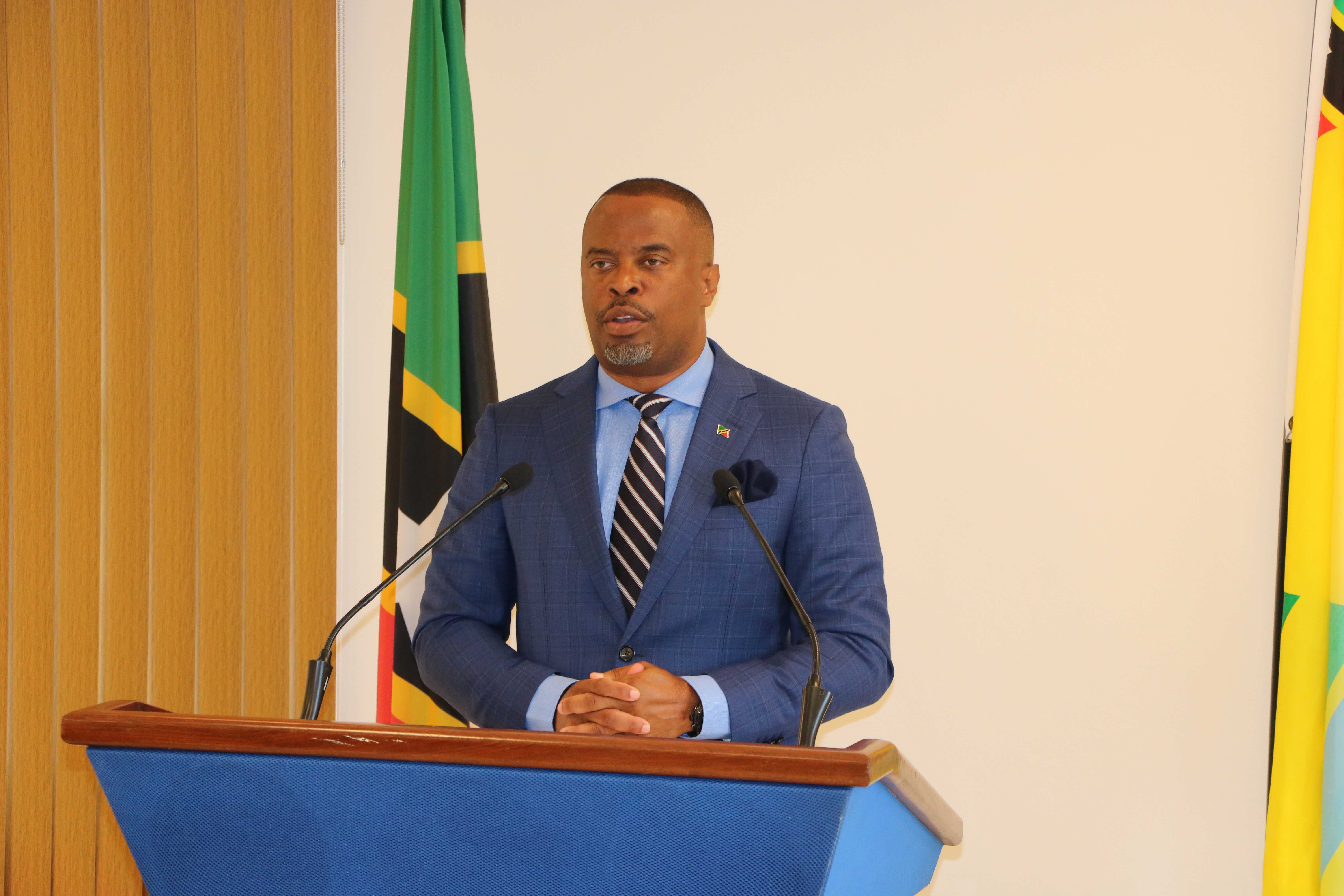 Hon. Mark Brantley, Premier of Nevis and Minister of Tourism in the Nevis Island Administration