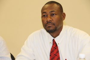 Mr. Brian Dyer, Director of the Nevis Disaster Management Department (file photo)