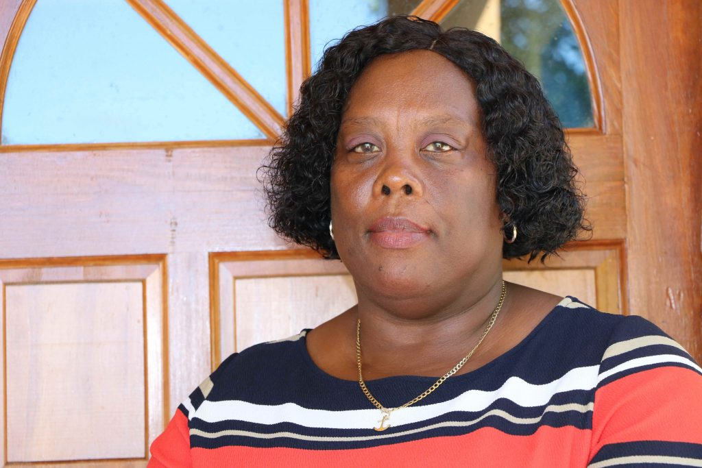 Mrs. Dorriel Phillip, Director of the Department of Statistics and Economic Planning in the Ministry of Finance, in the Nevis Island Administration