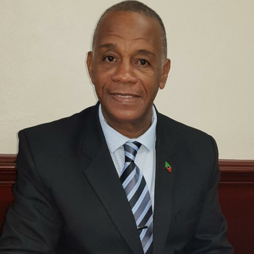 Hon. Eric Evelyn, Minister of Environment and Cooperatives in the government of St. Kitts and Nevis and representative for Nevis 10 in the National Assembly