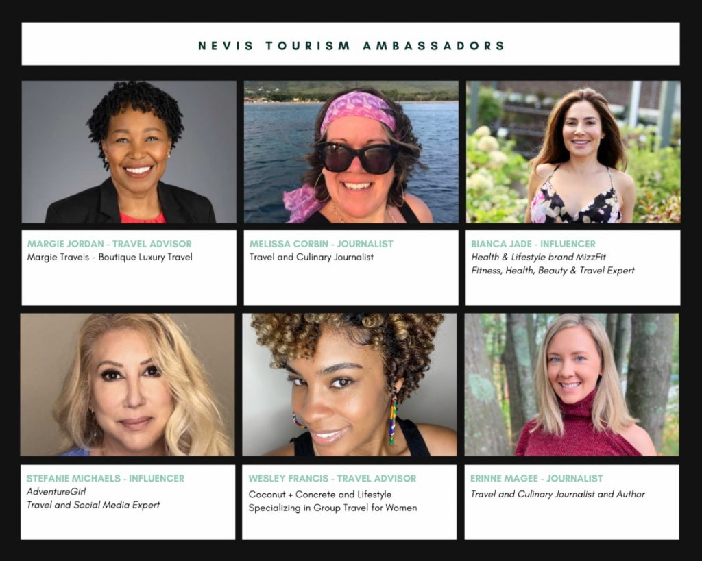 Nevis Tourism Ambassadors