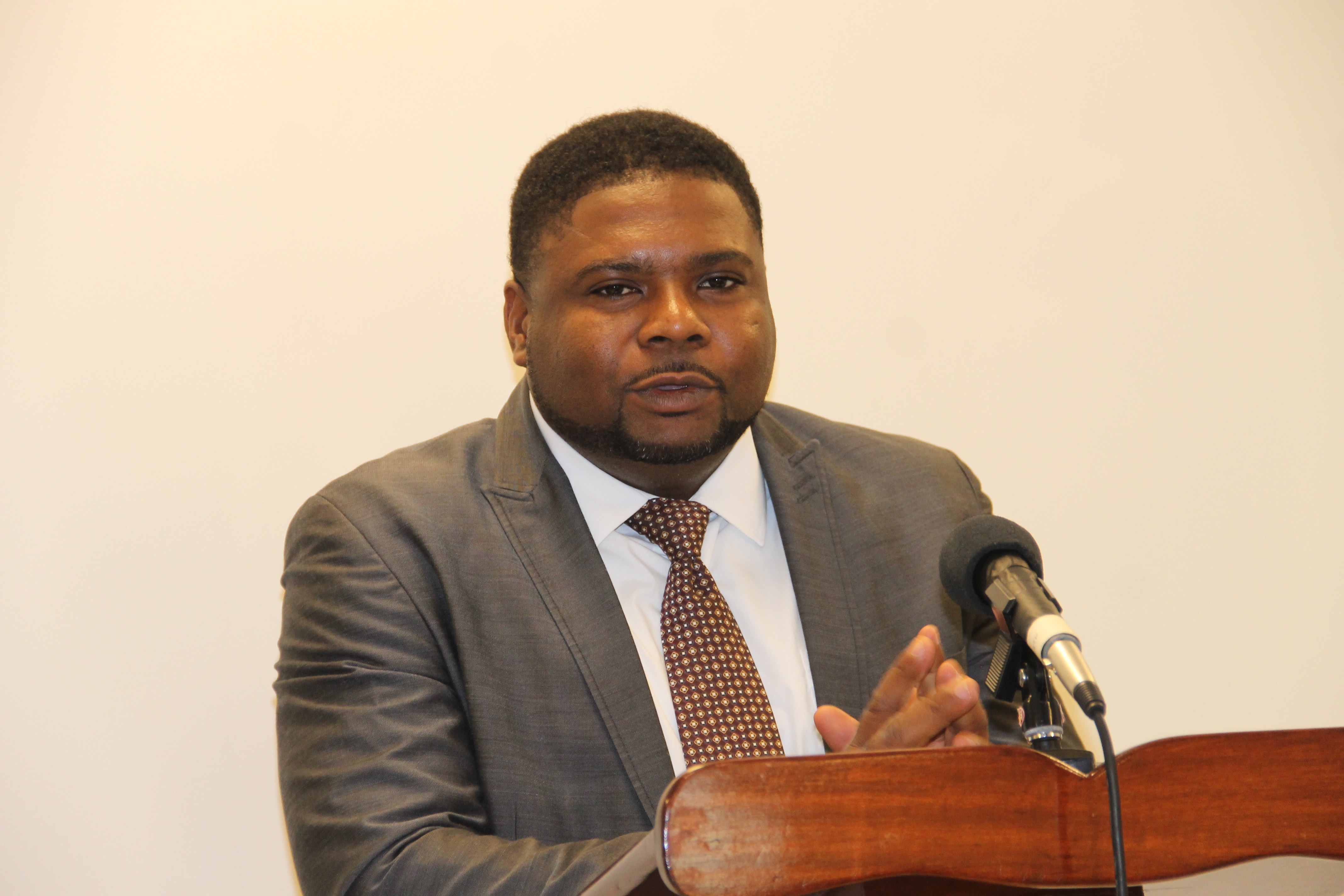 Hon Troy Liburd, Junior Minister of Education in the Nevis Island Administration (file photo)