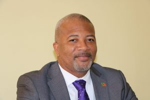 Hon. Spencer Brand, Minister responsible for Water Services on Nevis on October 08, 2020