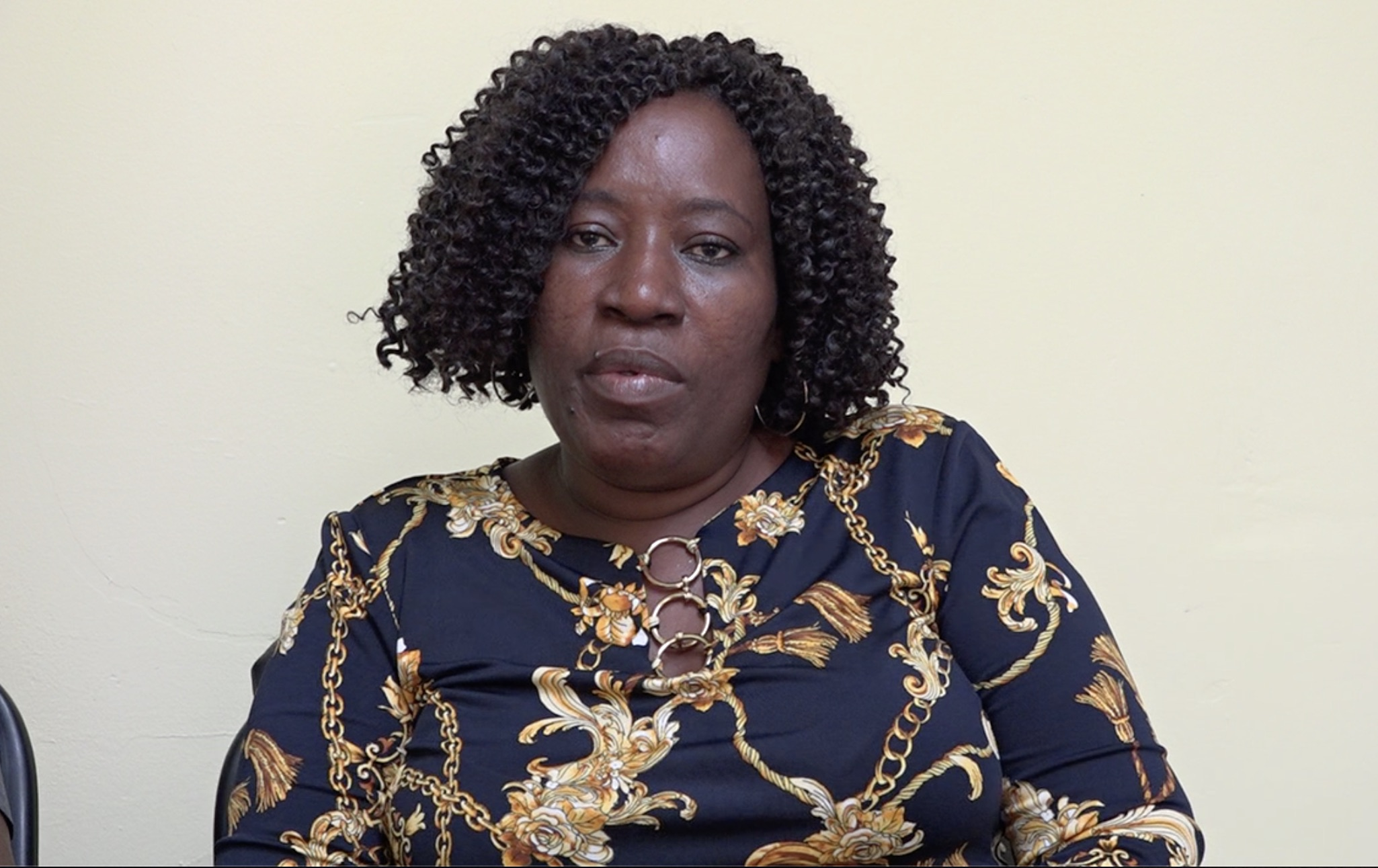Mrs. Janette Meloney Director of the Department of Community Development in the Nevis Island Administration