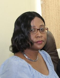 Mrs. Joan Browne, Principal Assistant Secretary in the Ministry of Finance in the Nevis Island Administration