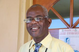 Mr. Oral Brandy, Manager of the Nevis Air and Sea Ports Authority