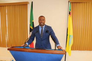 Hon. Mark Brantley, Premier and Minister of Tourism in the Nevis Island Administration