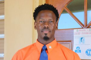 Mr. Mario Phillip, Gender Officer in the Department of Gender Affairs in the Nevis Island Administration