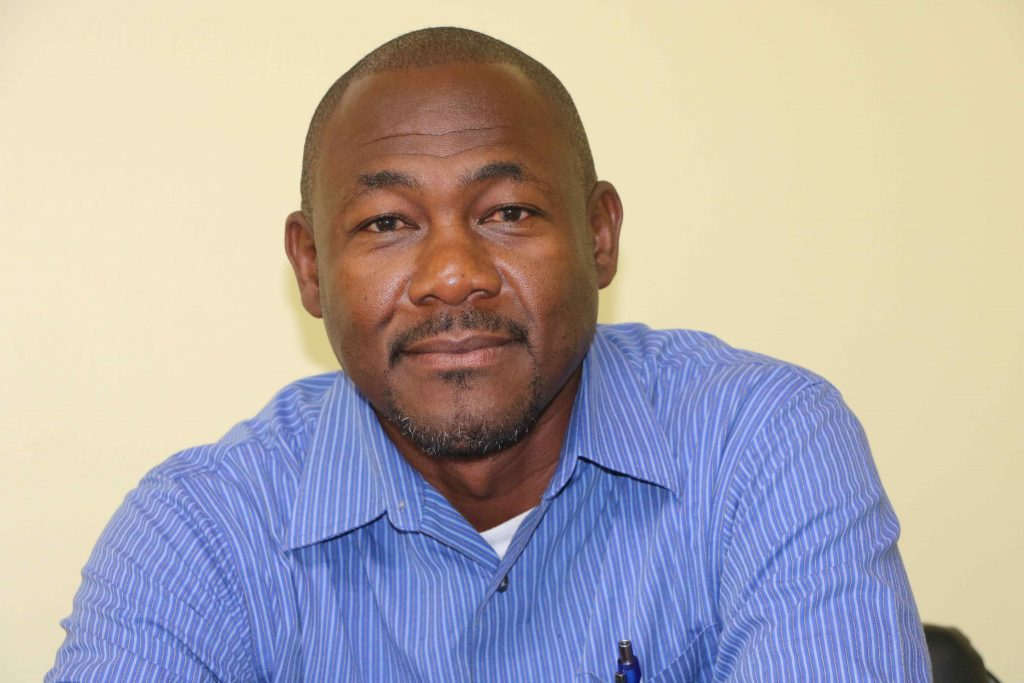 Mr. Brian Dyer, Director at the Nevis Disaster Management Department and Co-Chair of the Nevis COVID-19 Task Force (file photo)