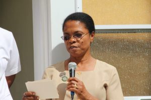 Nurse Jenevie Daniel, assigned to the Nevis Eye Care Programme (file photo)