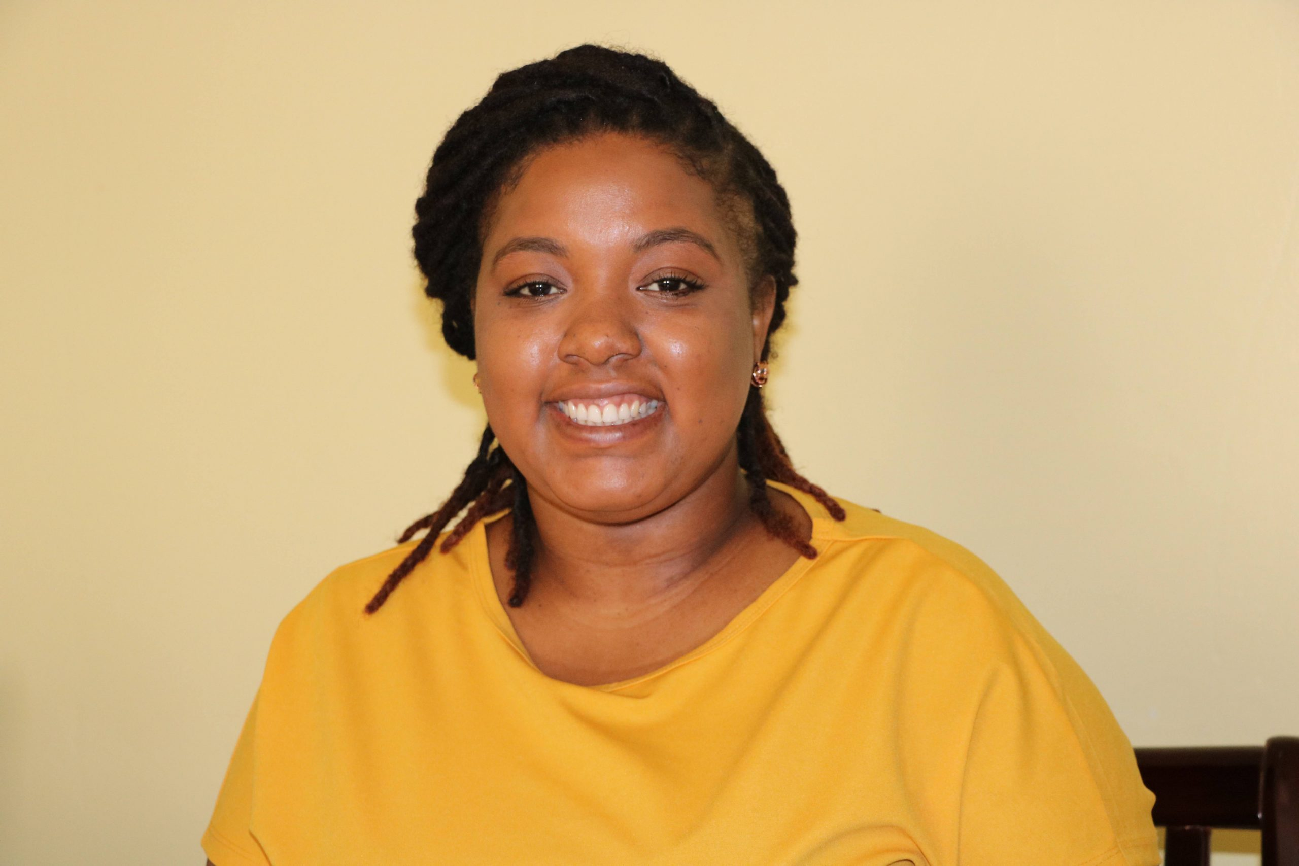 Ms. Terysia Herbert, Education and Prevention Officer at the Health Promotion Unit in the Ministry of Health in the Nevis Island Administration