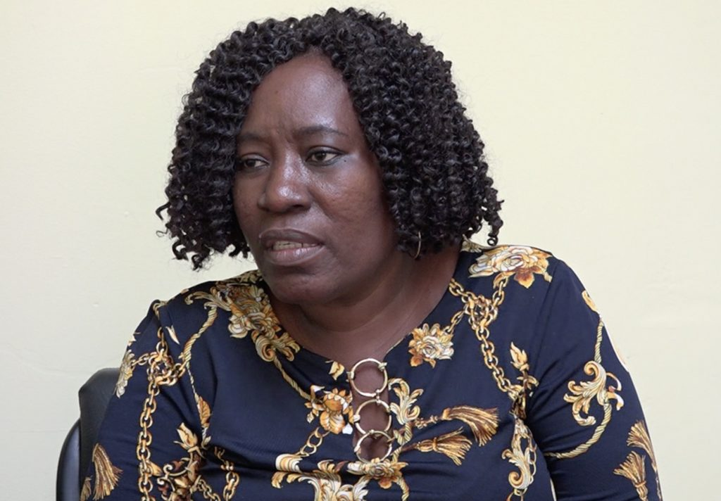 Mrs. Janette Meloney, Director of the Department of Community Development in the Nevis Island Administration during a recent interview with the Department of Information