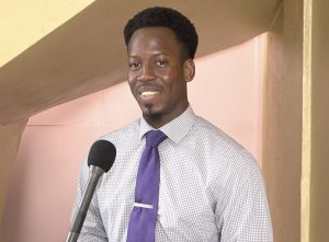 Mr. Mario Phillip, Gender Affairs Officer in the Department of Gender Affairs Gender Affairs