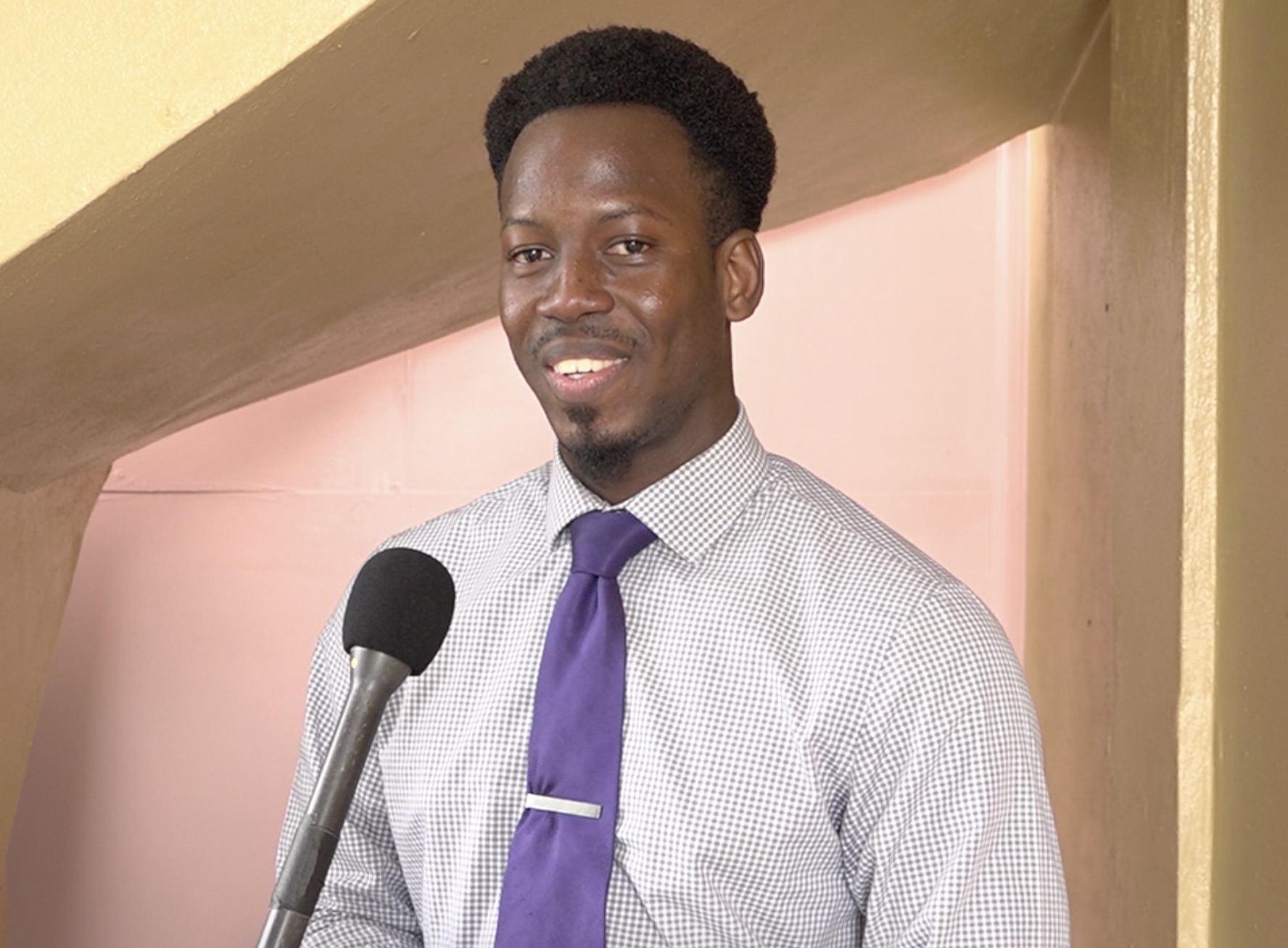 Mr. Mario Phillip, Gender Affairs Officer in the Department of Gender Affairs Gender Affairs