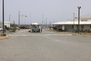 The entrance to the Long Point Port on Nevis (file photo)