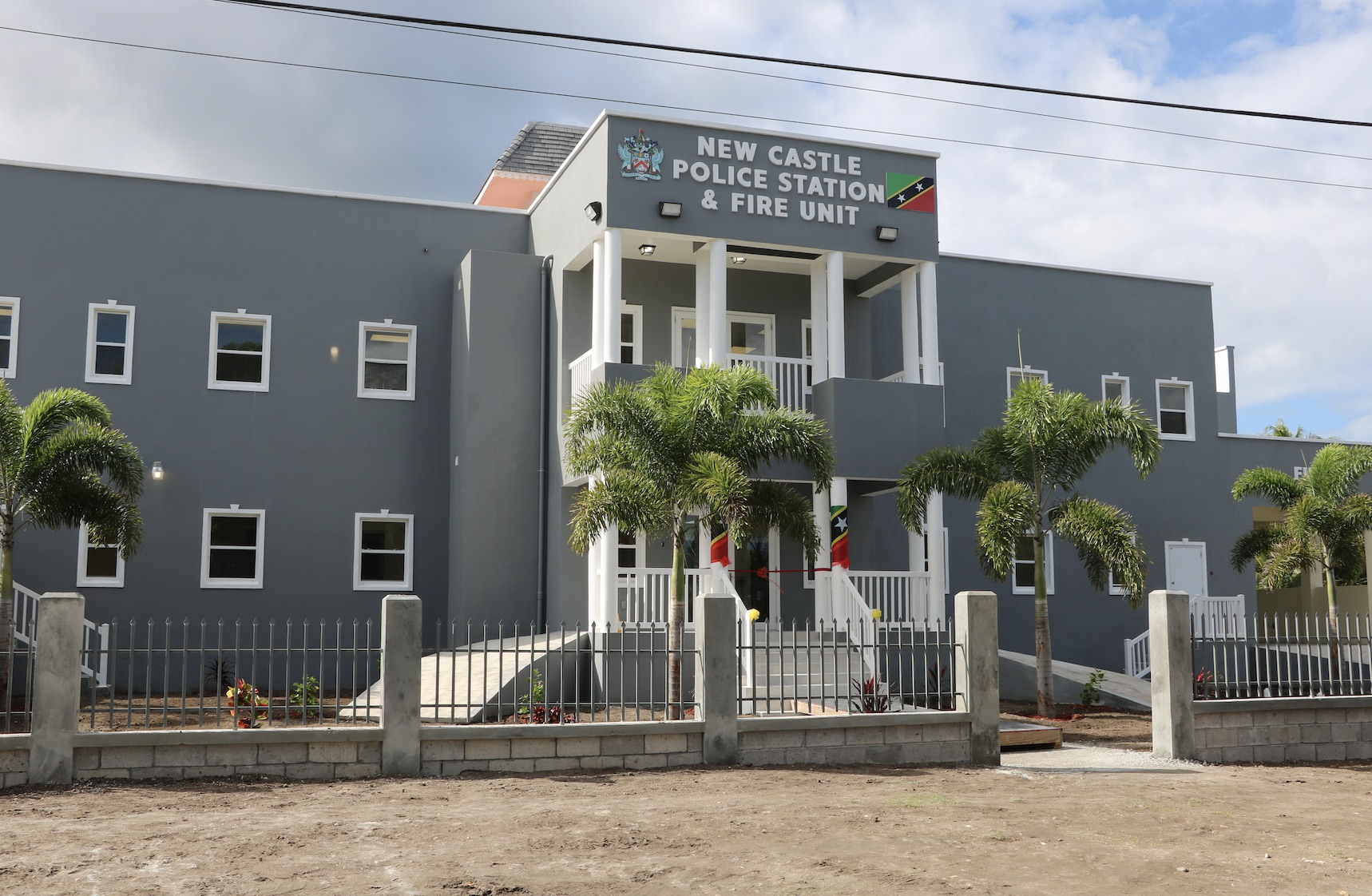 Newly constructed multimillion-dollar New Castle Police Station and Fire Unit officially commissioned on December 03, 2020
