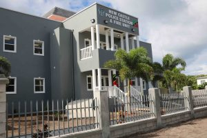 The new multimillion-dollar New Castle Police Station and Fire Unit commissioned on Nevis on December 03, 2020