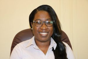 Ms. Tonya Bartlett, Manager of the Nevis Water Department at her office in Charlestown on January 26, 2021