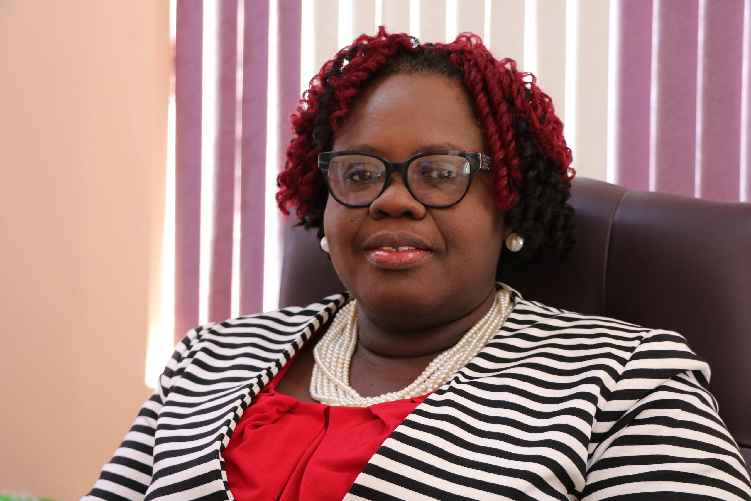 Hon. Hazel Brandy-Williams, Junior Minister of Health in the Nevis Island Administration at her office in Charlestown on January 26, 2021