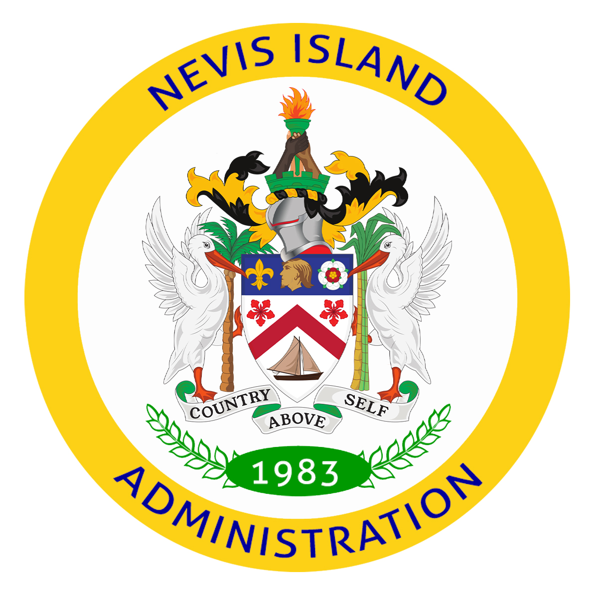 Nevis Island Administration seal