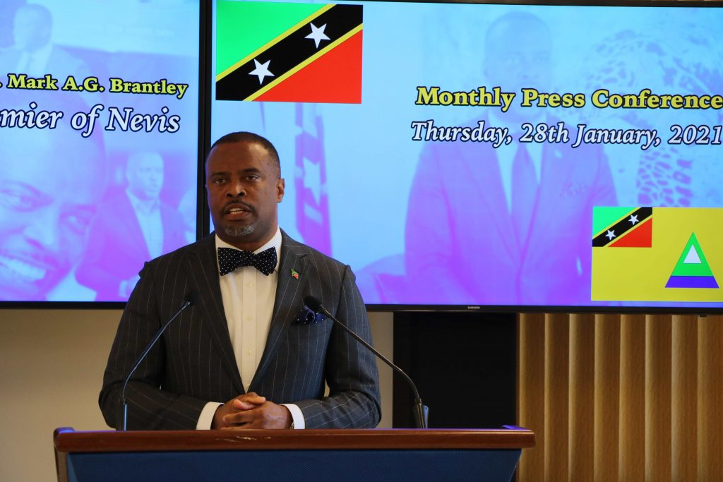 Hon. Mark Brantley, Premier of Nevis and Minister of Health and Tourism in the Nevis Island Administration