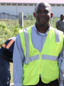 Mr. Jevon Williams, Director of the Public Works Department on Nevis (file photo)