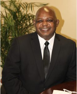 Mr. Albert Gordon, the new General Manager of the Nevis Electricity Company Limited