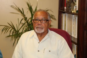 Mr. Elford Felix, a St. Lucian Generation Management Consultant working with the Nevis Electricity Company Limited