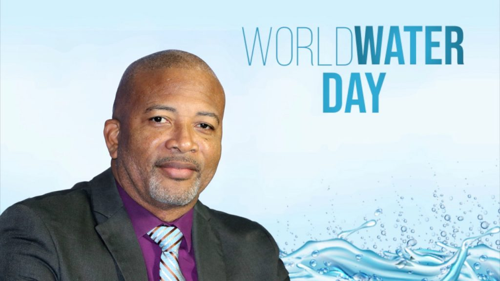 Hon. Spencer Brand, Minister responsible for Water Services in the Nevis Island Administration