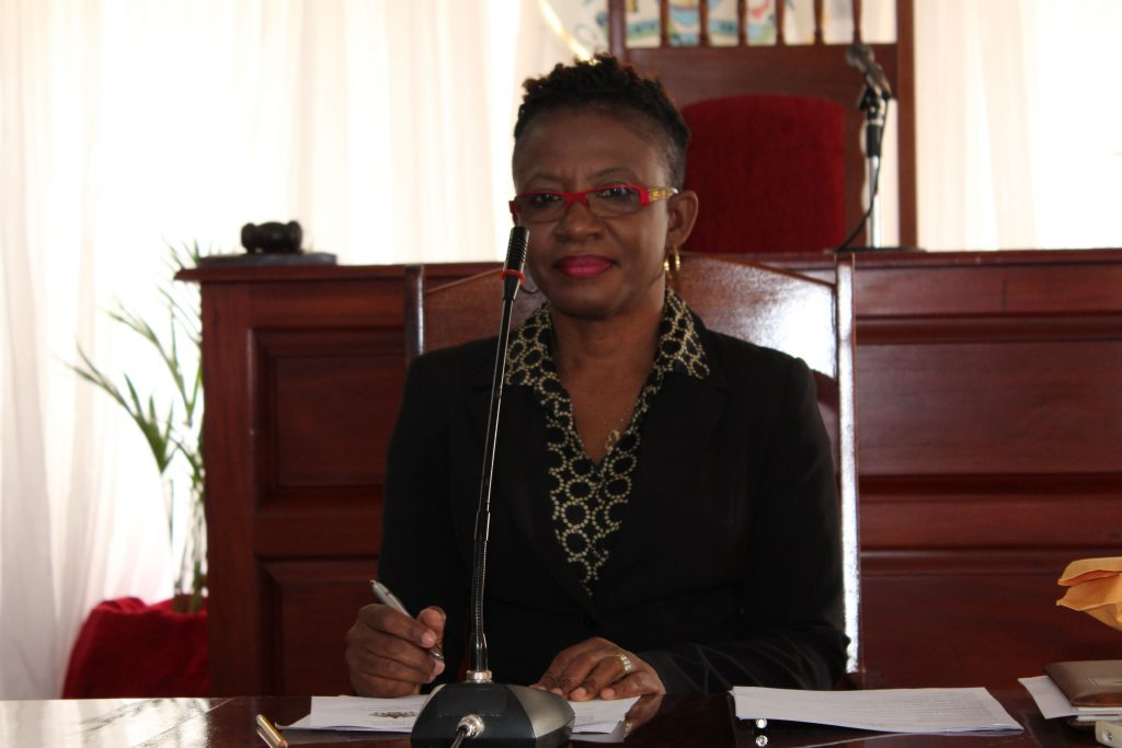 Ms. Myra Williams, Clerk of the Nevis Island Assembly (file photo)