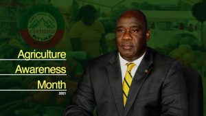 Hon. Alexis Jeffers, Deputy Premier and Minister of Agriculture in the Nevis Island Administration