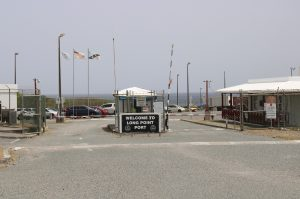 Entrance of the Long Point Port