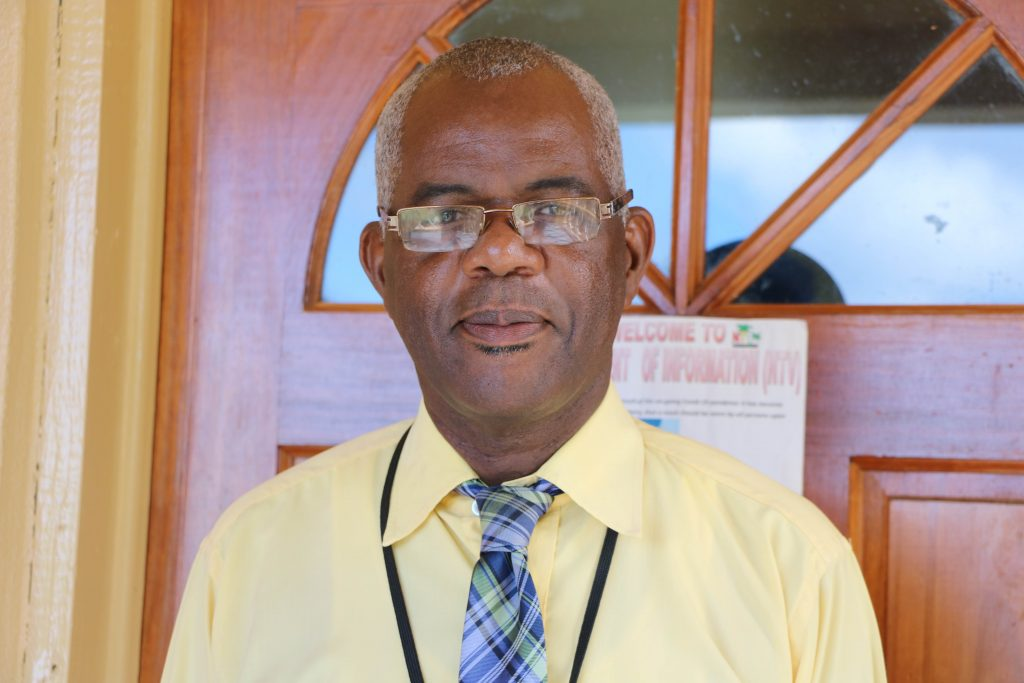 Mr. Oral Brandy, General Manager at the Nevis Air and Sea Ports Authority