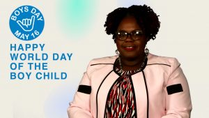 Hon. Hazel Brandy-Williams, Junior Minister of Health and Gender Affairs in the Nevis Island Administration