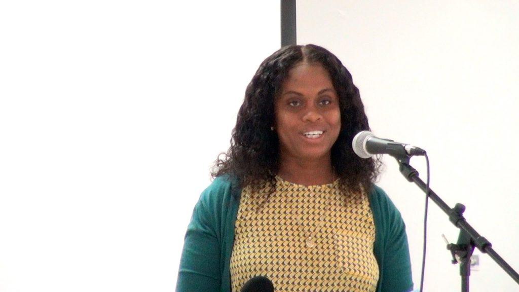 Ms. Latoya Jeffers, Assistant Secretary in the Ministry of Health on Nevis