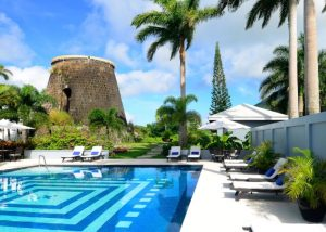 The pool at Montpelier Plantation & Beach (photo provided)