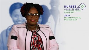 Hon. Hazel Brandy Williams, Junior Minister of Health in the Nevis Island Administration