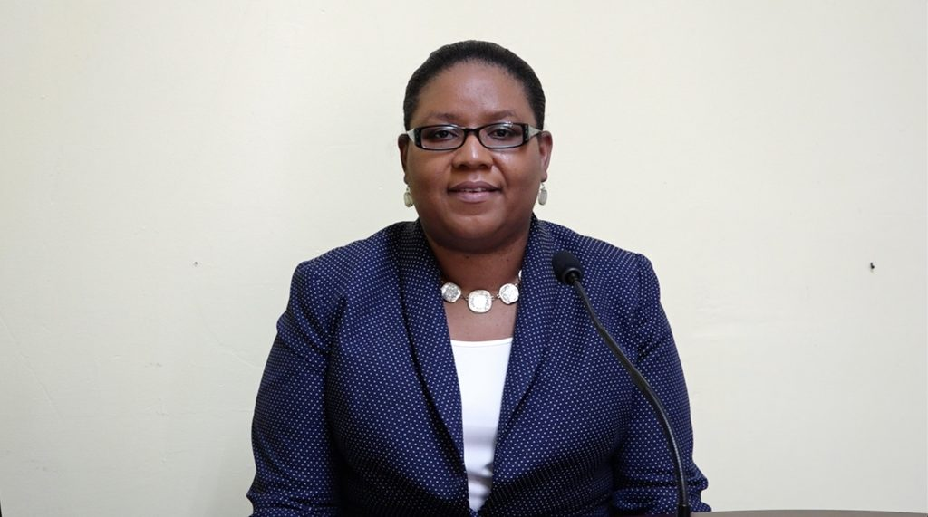 Ms. Zahnela Claxton, Principal Education Officer on Nevis